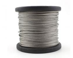 304不锈钢钢丝绳 1.5mm粗细 钢丝线 牵引线 一捆100米 送对应铝套20个 304不锈钢钢丝绳 一捆100米 直径1.5mm