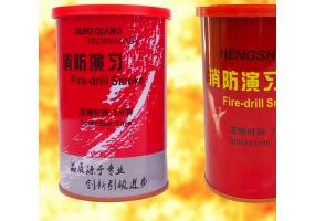 红色迷彩信号烟雾 多种颜色消防演习用 救援信号多色使用 绿色安全消防演习器材